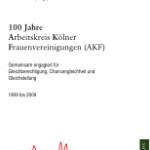 100 Jahre AKF Köln