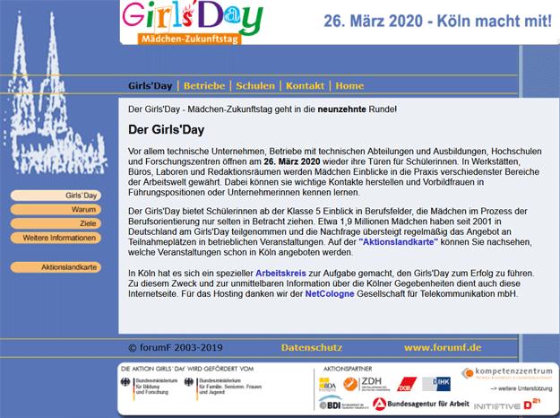 Girls'Day Köln 2020