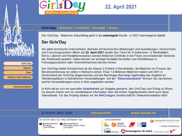 Girls'Day Köln 2021