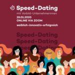 Marita Alami aktiv für Gründerinnengeist beim Online-Speeddating mit gründungsinteressierten Frauen